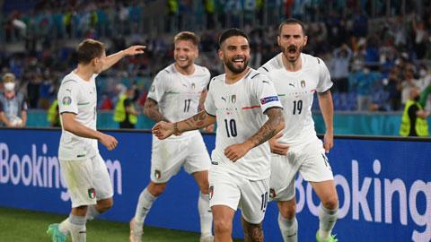 Các cầu thủ Italia tự tin sẽ được ăn mừng chiến thắng bởi họ chưa từng thua Áo trong lịch sử