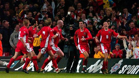 Chiến thắng biểu tượng của ĐT Wales trước Italia và nguồn cảm hứng sau 2 thế kỷ