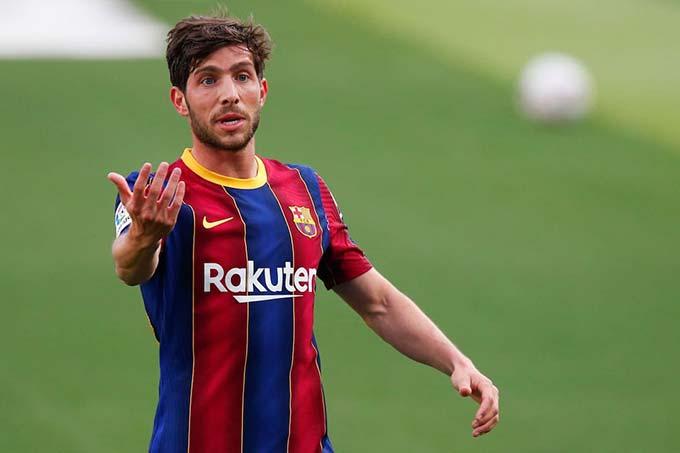 Roberto không đóng góp được nhiều cho Barca