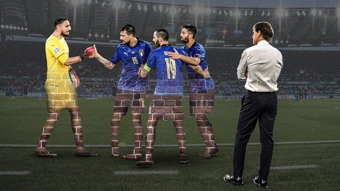ĐT Italia phá liền 2 kỷ lục khó tin sau trận thắng Áo