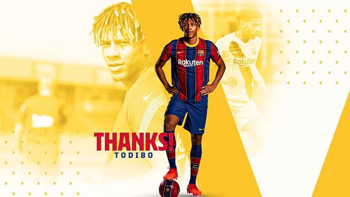 Barcelona chính thức đẩy Todibo sang Nice