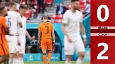 Hà Lan vs Czech: 0-2, De Ligt nhận thẻ đỏ tai hại khiến Hà Lan bị loại