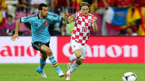 Croatia vs Tây Ban Nha: Cuộc chiến giữa sân