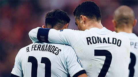 Bruno Fernandes lần đầu lên tiếng sau khi Bồ Đào Nha bị loại