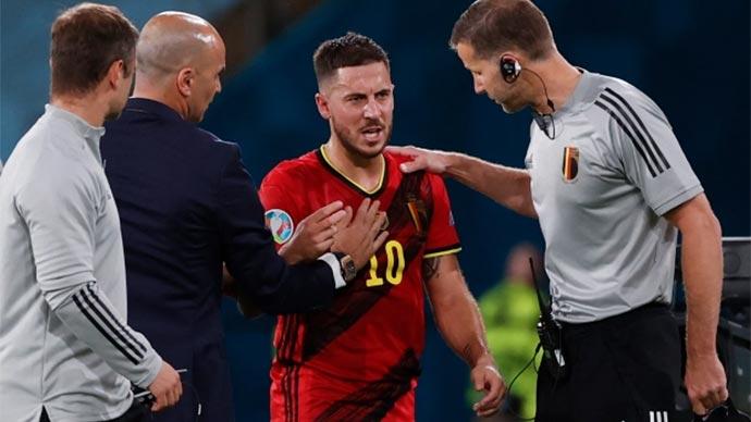 De Bruyne và Hazard cùng chấn thương, Bỉ trả giá đắt cho trận thắng Bồ Đào Nha