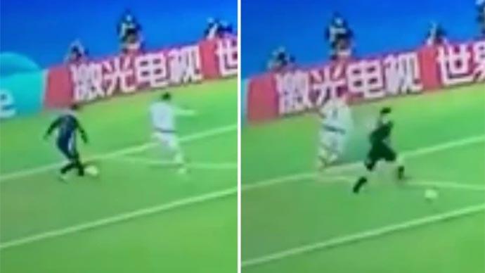 Ronaldo bị Courtois biến thành gã hề trên sân