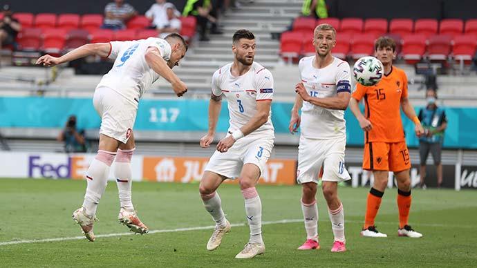 """Tường thuật Hà Lan 0-2 CH Czech<span class=""""lived""""></span>"""
