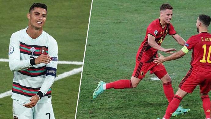 Chấm điểm Bỉ 1-0 Bồ Đào Nha: Thorgan Hazard lấn át Ronaldo