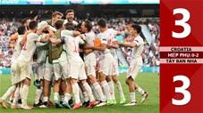 Croatia vs Tây Ban Nha: 3-3 (HP: 0-2), Croatia gục ngã trong màn rượt đuổi với 8 bàn thắng