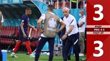 Pháp vs Thụy Sỹ: 3-3 (pen 4-5), Mbappe sút hỏng luân lưu, Pháp bị loại cay đắng