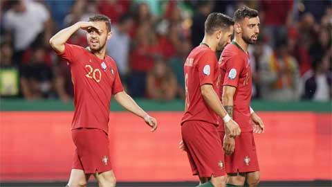 Dàn sao Premier League của ĐT Bồ Đào Nha gây thất vọng