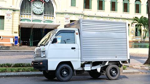 Chủ xe tải nhẹ Suzuki nhận nhiều đặc quyền nhờ sự hợp tác của hãng với Lalamove