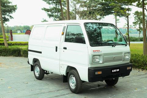 Chuyên chở linh hoạt cùng Suzuki Blind Van được phép lưu thông nội đô 24/7