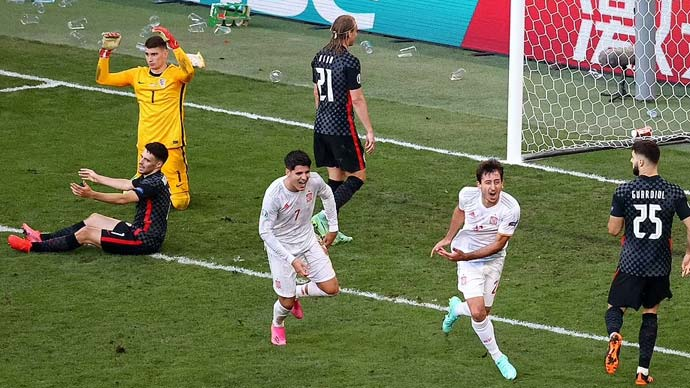 Chiến thắng của Tây Ban Nha trước Croatia đi vào lịch sử các kỳ EURO