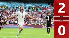 Anh vs Đức: 2-0, Sterling và Kane tỏa sáng đưa Tam sư vào tứ kết