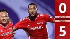 Kaya FC vs Viettel: 0-5 (Bảng F - AFC Champions League 2021)