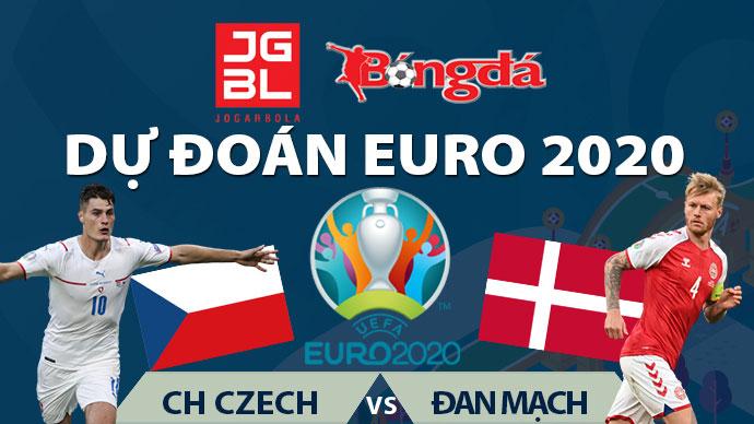 Dự đoán EURO 2020 trúng thưởng: Czech vs Đan Mạch