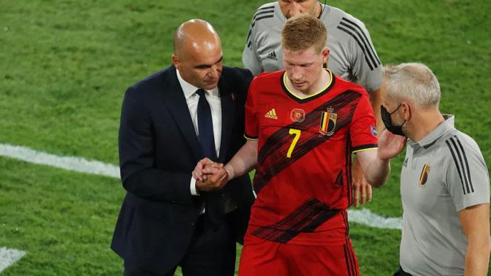 Chấn thương sẽ lại cản bước De Bruyne ở sân chơi lớn?