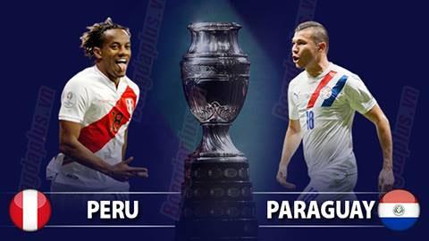 Nhận định bóng đá Paraguay vs Peru, 04h00 ngày 3/7: Á quân khoe sức mạnh