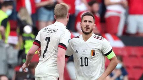 Nếu De Bruyne và Hazard ngồi ngoài, ĐT Bỉ sẽ trông cậy vào ai?