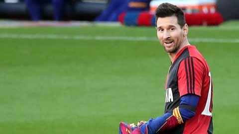 Đội bóng quê nhà đánh tiếng với Messi