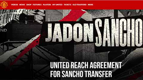 MU xác nhận mua xong Sancho