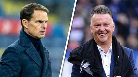 Van Gaal có thể quay lại dẫn dắt Hà Lan thay De Boer từ chức