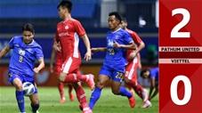 Pathum United vs Viettel: 2-0 (Bảng F - AFC Champions League 2021)
