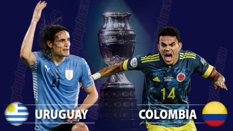 Nhận định bóng đá Uruguay vs Colombia, 05h00 ngày 4/7: Uruguay thẳng tiến