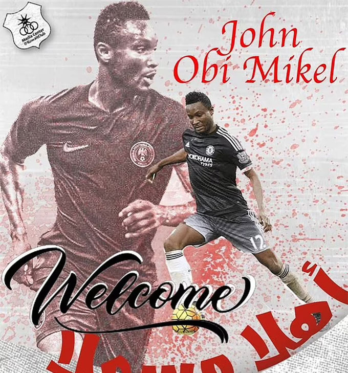 Mikel chia tay Stoke để chuyển sang Kuwait thi đấu