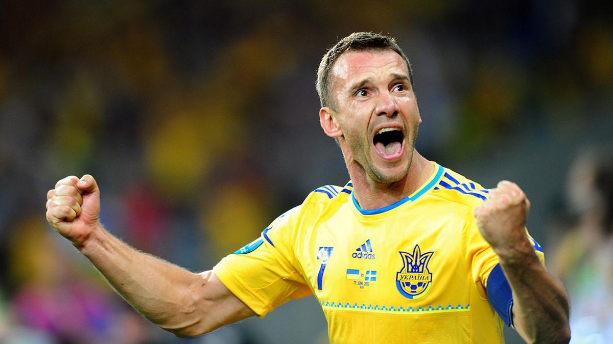 Ở ĐT Ukraine, Sheva tất nhiên là một ngôi sao lớn duy nhất có năng lực gánh team như anh đã thể hiện ở EURO 2012