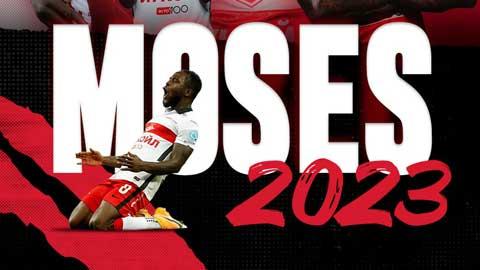 Chelsea chính thức bán đứt Moses sang Spartak Moscow
