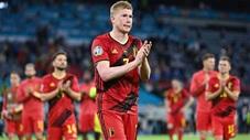De Bruyne và nỗi đau ngày Bỉ bị loại tại EURO 2020