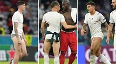 Sao Italia lột quần tặng CĐV nhà sau trận thắng Bỉ