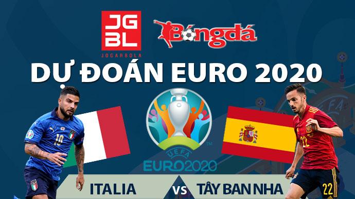 Dự đoán EURO 2020 trúng thưởng: Italia vs Tây Ban Nha