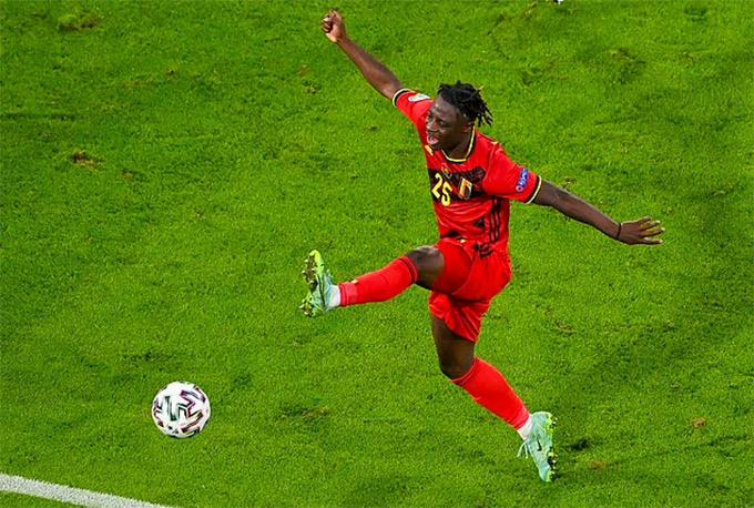 Cầu thủ 19 tuổi, Doku là cái tên thi đấu tốt nhất bên phía ĐT Bỉ
