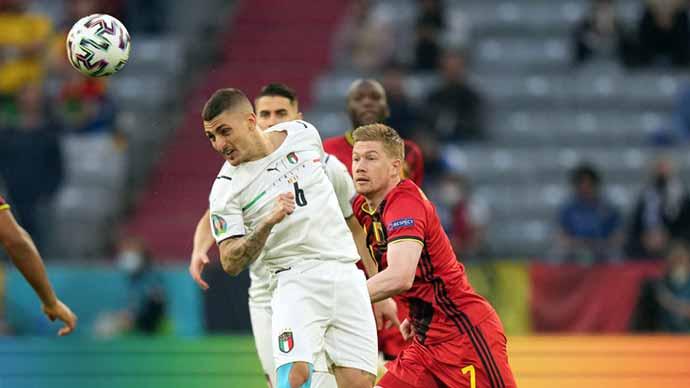 Cầu thủ ĐT Bỉ thừa nhận Italia thắng xứng đáng