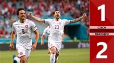 Czech vs Đan Mạch: 1-2, Đan Mạch lần đầu tiên vào bán kết EURO kể từ năm 1992
