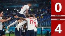 Ukraine vs Anh: 0-4, thắng đậm Ukraine, Anh gặp Đan Mạch ở bán kết