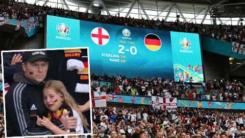EURO 2020: Gây quỹ bù đắp cho fan nhí khóc trên khán đài