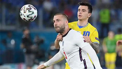 Chấm điểm cầu thủ Anh ở trận gặp Ukraine: Shaw 'chung mâm' Kane và Sterling