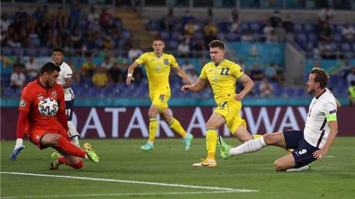 Trận Ukraine vs Anh lập kỷ lục về người xem
