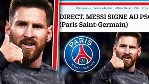 PSG đưa ra đề nghị chính thức với Messi