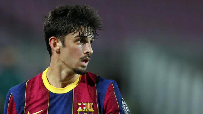 Trincao rời Barcelona để gia nhập Wolves