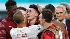Những hình ảnh cảm xúc nhất vòng tứ kết EURO 2020