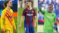 10 cầu thủ có nguy cơ bị Barca bán để giữ chân Messi