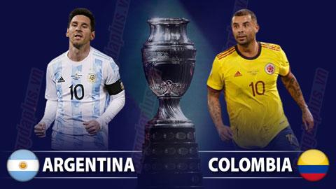 Nhận định bóng đá Argentina vs Colombia, 08h00 ngày 7/7