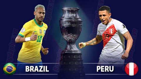 Nhận định bóng đá Brazil vs Peru, 06h00 ngày 6/7: Chủ nhà thẳng tiến  vào chung kết