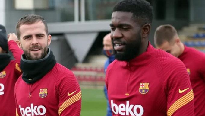 Barca muốn thanh lý cả Pjanic và Umtiti