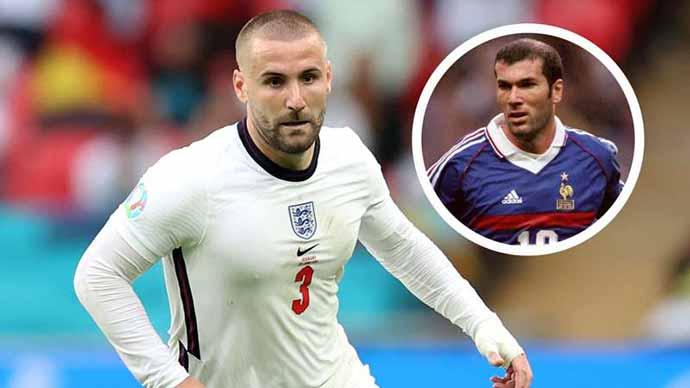 Xuất sắc hơn cả Zidane, Luke Shaw nói gì?
